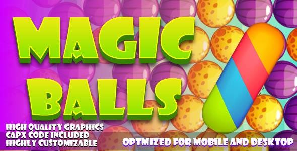 Magic Balls (HTML5) games. - CodeCanyon Item for Sale