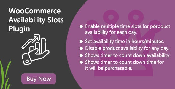 WooCommerce Product Availability Slots Plugin