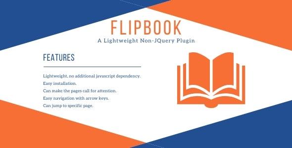 FlipBook - Lightweight Non-JQuery Plugin - CodeCanyon Item for Sale