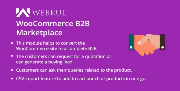 B2B Marketplace for WooCommerce | B2B Wholesale Plugin - CodeCanyon Item for Sale