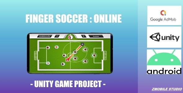 Finger Soccer Online - (Unity - Admob)