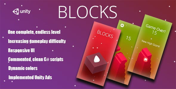 Blocks- Complete Unity Game