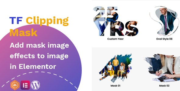 Clipping Mask addon - widget for Elementor - CodeCanyon Item for Sale