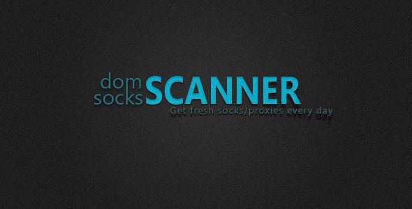 domSCANNER - Solution fresh socks/proxies everyday - CodeCanyon Item for Sale