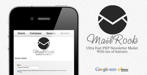 MailRock XML Newsletter (mailing list system)
