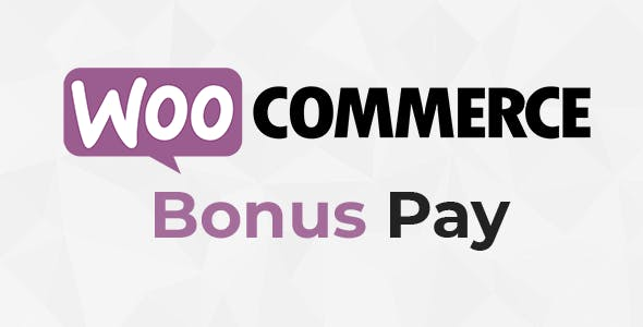 WooCommerce Bonus Pay