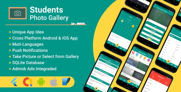 Student's Photo Gallery - CodeCanyon Item for Sale