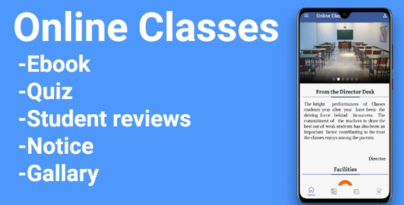 Online Classes - CodeCanyon Item for Sale