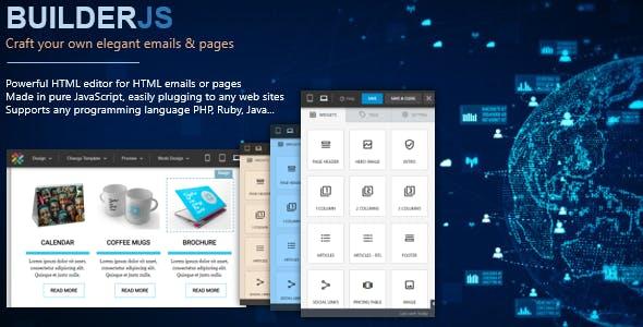 BuilderJS - HTML Email & Page Builder