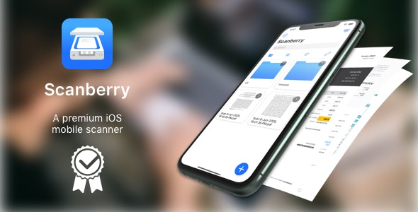 [White Label] Scanberry - PDF Scanner App iOS - CodeCanyon Item for Sale