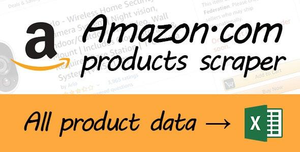 Amazon scraper - CodeCanyon Item for Sale