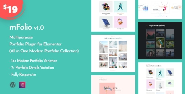 mFolio   WordPress Portfolio Plugin for Elementor - CodeCanyon Item for Sale