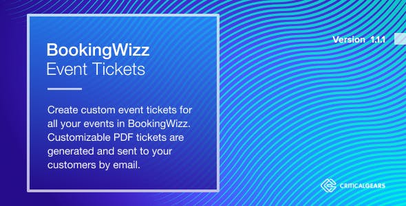 BookingWizz Event Tickets