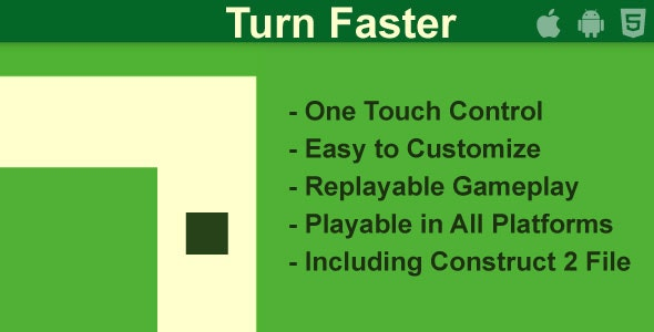 Turn Faster - CodeCanyon Item for Sale