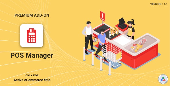 Active eCommerce POS Manager Add-on - CodeCanyon Item for Sale
