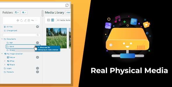 WordPress Real Physical Media: Physical Media Folders & SEO Rewrites