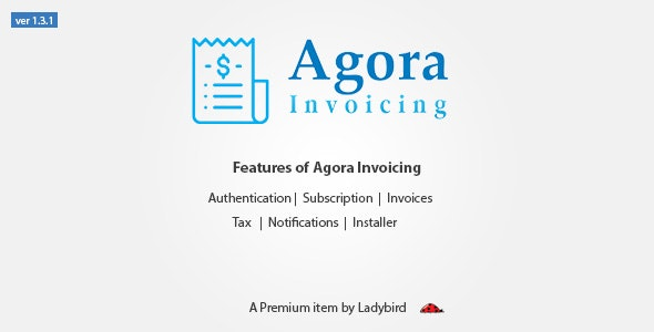 Agora Invoicing - CodeCanyon Item for Sale