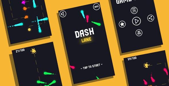 Dashlane: (Android Studio+Admob Reward Video+Facebook Ads+Inapp+Leaderboard+ready to publish)