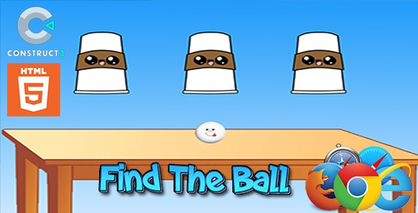 Find The Ball - HTML5 Mobile Game - CodeCanyon Item for Sale