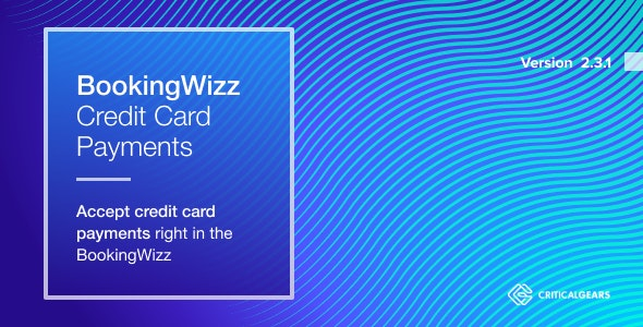 BookingWizz Credit Card Payments - CodeCanyon Item for Sale
