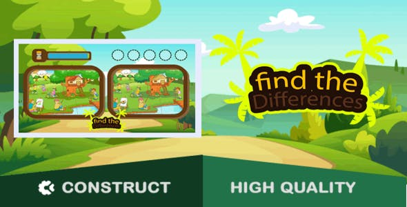 Find the Differences - HTML5 Game (capx)