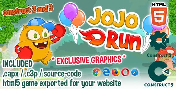 JoJo Run HTML5 Game - Construct 2 & 3 Source-code