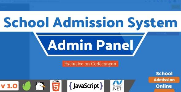 Online School Admission Portal