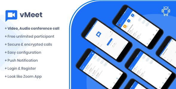 Vmeet - A Complete Video Conferencing Android App