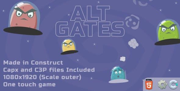 Alt Gates - HTML5 Casual Game