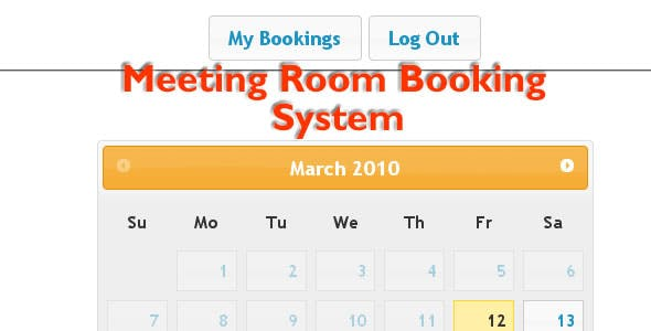 Meeting Room Booking System 2