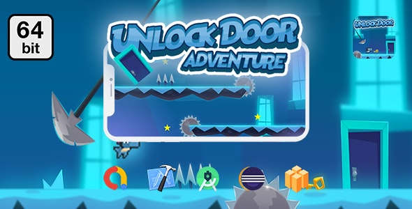 Unlock Doors Adventure 64 bit - Android IOS With Admob - CodeCanyon Item for Sale