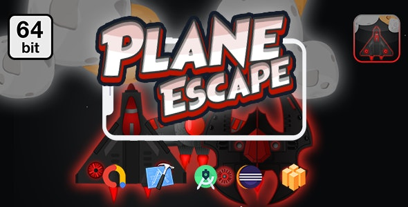 Planes Escape 64 bit - Android IOS With Admob - CodeCanyon Item for Sale