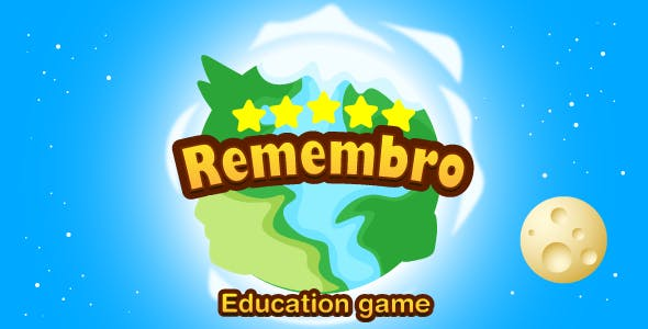 Remembro - HTML5/mobile game. Construct 3. Education game