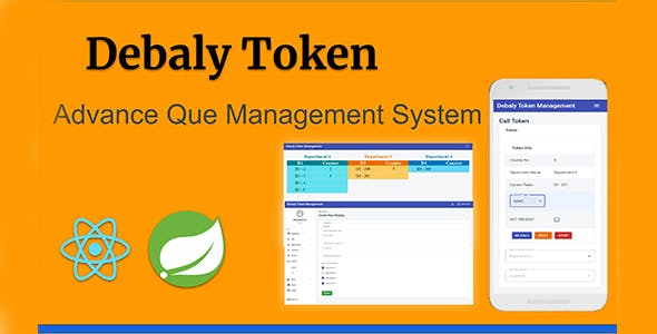 Debaly Token Advance Que Management System