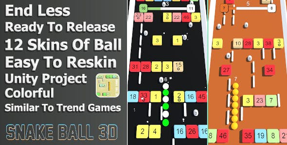 Snake Ball 3D - Unity Project