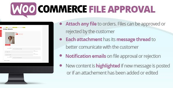 WooCommerce File Approval