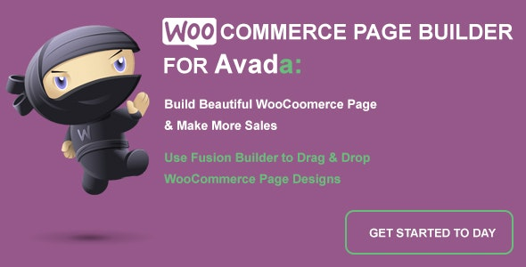 WooCommerce Page Builder For Avada and Fusion Builder - CodeCanyon Item for Sale