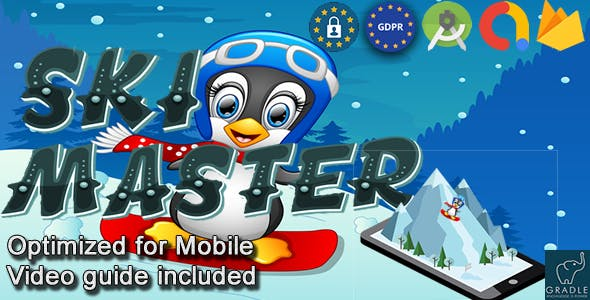 Ski Master (Admob + GDPR + Android Studio)