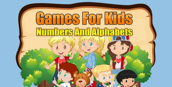 Games For Kids Numbers And Alphabets - CodeCanyon Item for Sale
