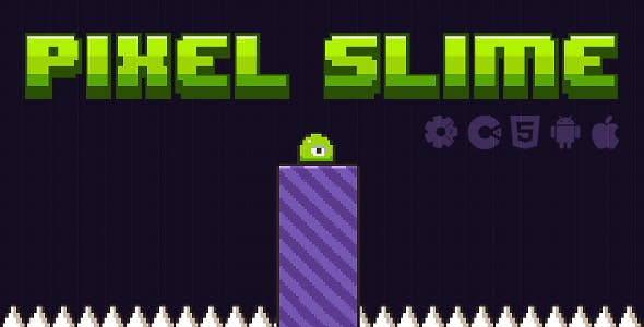 Pixel Slime  - HTML5 Game (Construct 2 & Construct 3)
