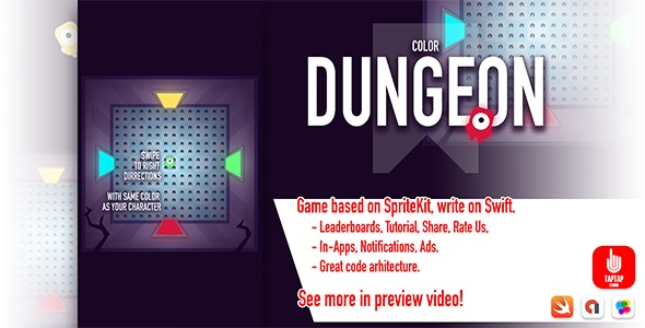 Color Dungeon - CodeCanyon Item for Sale