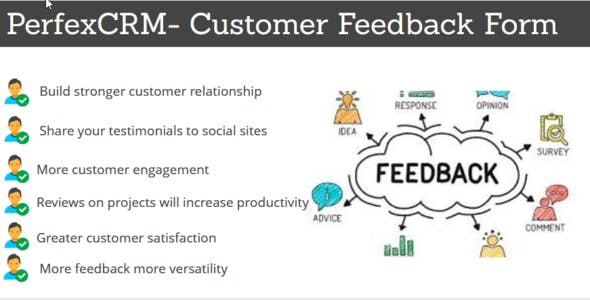 Perfex CRM - Customer Feedback Module