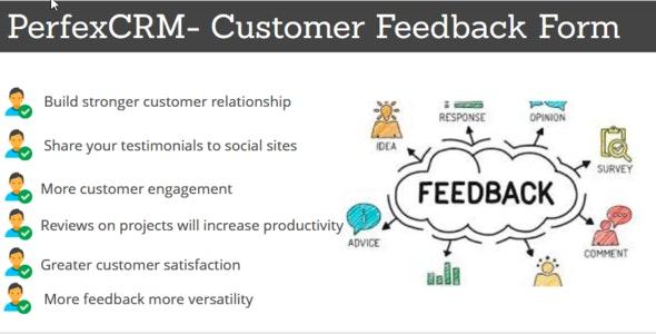 Perfex CRM - Customer Feedback Module - CodeCanyon Item for Sale