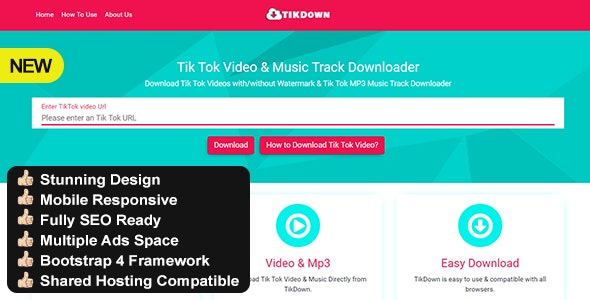 Tiktok Video Download Without Watermark By Bano Studio Codecanyon