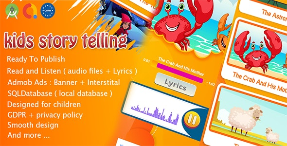 Kids Stories Telling : Audio & Lyrics - CodeCanyon Item for Sale