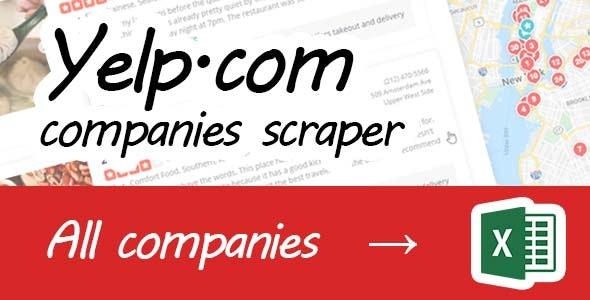 Yelp scraper - CodeCanyon Item for Sale