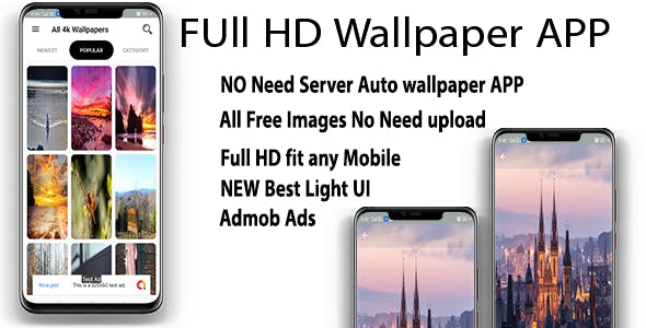 Mix wallpaper | Android wallpaper App Template