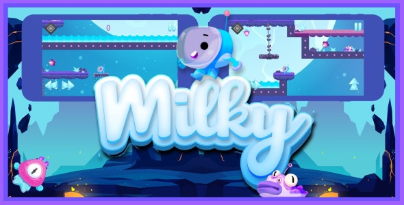 Milky - iOS game - CodeCanyon Item for Sale