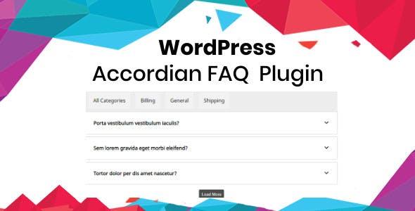 WordPress Accordian FAQ Plugin
