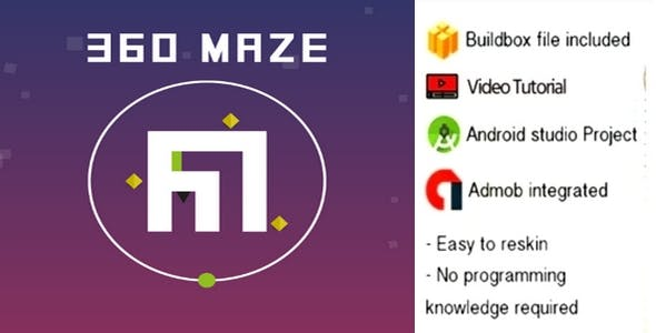 360 Maze game buildbox project